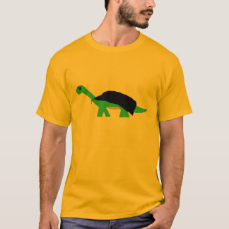 Masked Caped Apatosaurus apparel T-Shirt