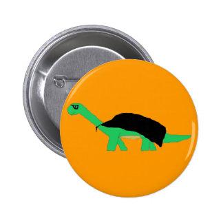 Masked Caped Apatosaurus pin