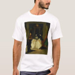 Masked Figures in a Venetian Coffee House T-Shirt
