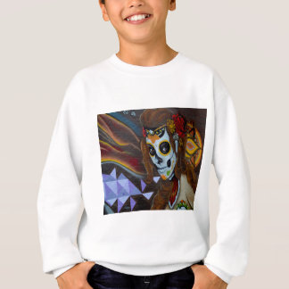 Masked lady graffiti sweatshirt