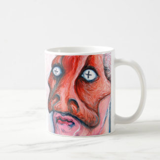 Masked man basic white mug
