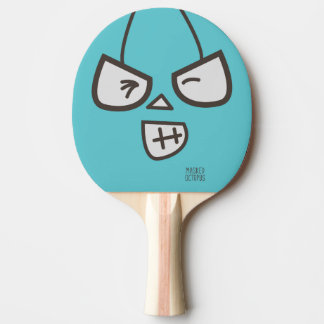 Masked Octopus - Hello Ping Pong Paddle