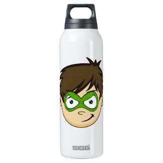 Masked Superboy Hero 16 Oz Insulated SIGG Thermos Water Bottle