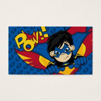 Masked Superhero Bookmark
