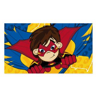 Masked Superhero Bookmark Business Cards