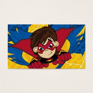 Masked Superhero Bookmark Business Card