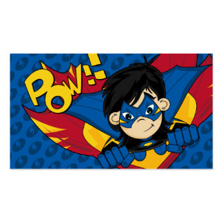 Masked Superhero Bookmark Pack Of Standard Business Cards