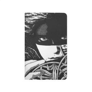 Masked woman journal