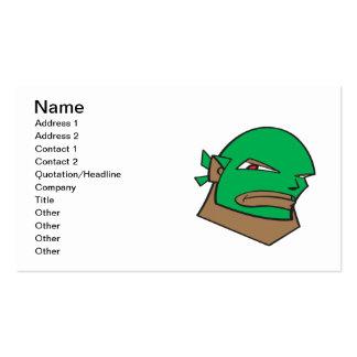 Masked Wrestler Pack Of Standard Business Cards