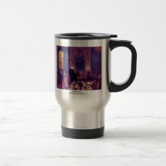 Maskensouper By Menzel Adolph Von Coffee Mugs