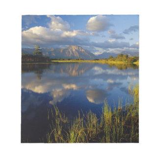 Maskinonge Lake in Waterton Lakes National Park Notepads