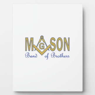 MASON BAND OF BROTHERS PLAQUES