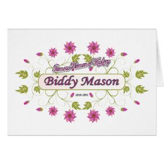 Mason Biddy Mason Famous American Women Cards