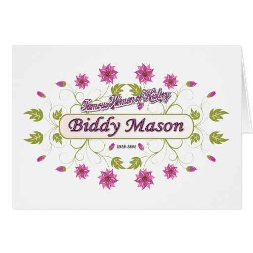 Mason ~ Biddy Mason ~ Famous American Women Cards