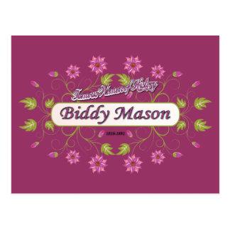 Mason ~ Biddy Mason ~ Famous American Women Postcard