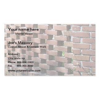 Mason Business Card