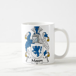 Mason Family Crest Coffee Mug