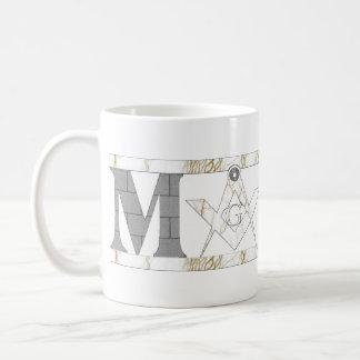 Mason in Stone Mug