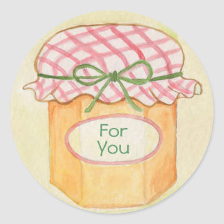 Mason Jar for you sticker