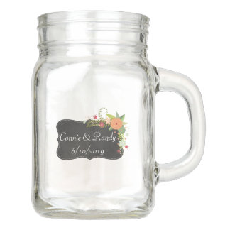 Mason Jar Mug Wedding Present