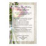 Mason Jar w/Rose and Wildflowers 14 Cm X 21.5 Cm Flyer