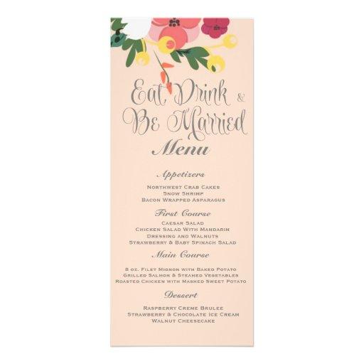 Mason Jar Wedding Invitation – Pastel Apricot