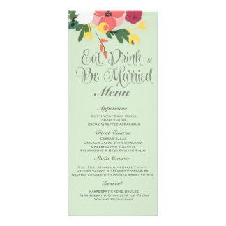 Mason Jar Wedding Invitation – Pastel Sea Green