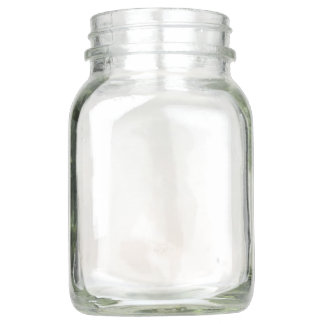 Mason Jar with handle, 20 oz