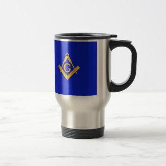 Mason - Masonic Blue Stainless Steel Travel Mug