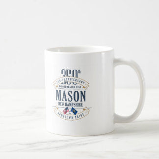Mason, New Hampshire 250th Anniversary Mug