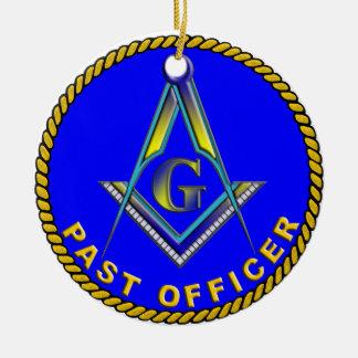 MASON Past Officer Ornaments