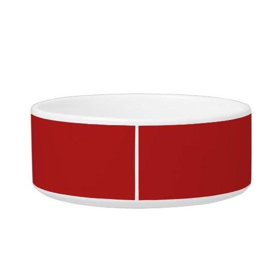 Mason Red Classy Colourful Pet Food Bowl