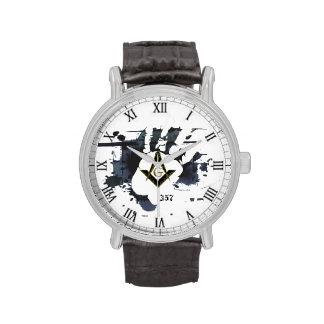 Masonic 357 watch
