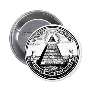 masonic 6 cm round badge