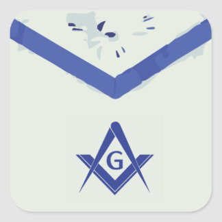 Masonic Apron Sticker