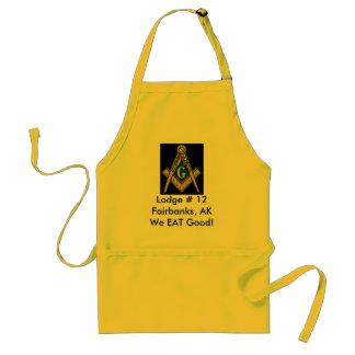 Masonic Apron We EAT Good!