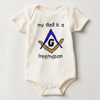 Masonic Baby - Organic Baby Bodysuit