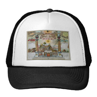 Masonic Chart 2 Trucker Hat