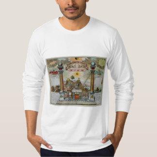 Masonic Chart 2 T-Shirt