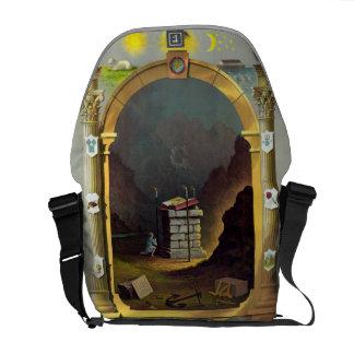 Masonic Chart Messenger Bag