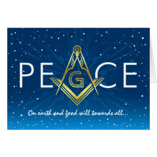 Masonic Christmas Cards | Freemasonry Holiday