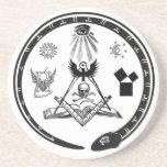 Masonic Coasters