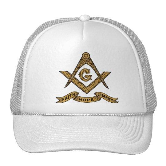 Masonic emblem cap