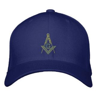 Masonic Embroidered Cap