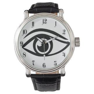 Masonic eye wristwatches