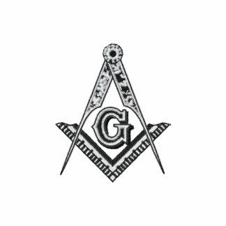 Masonic Freemason Freemasonry Square and Compass Embroidered Polo Shirt