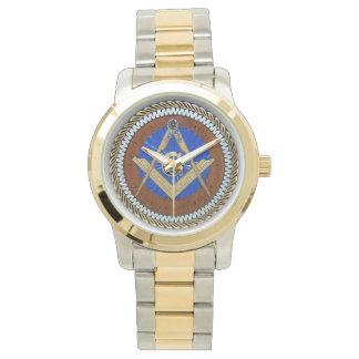 Masonic Gold Wrist Watches