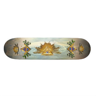 Masonic Life (Cosmos) Skateboards