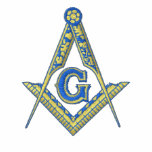 Masonic Logo with Personalised Name Embroidered Shirts