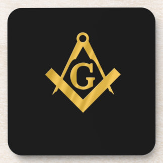 "Masonic ""Mason for Life"" Coaster"